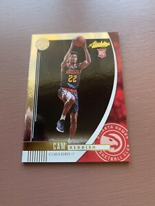 2019-20-Panini-Absolute-Memorabilia-Basketball-Cam-Reddish-Rookie-Card