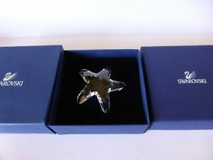 SWAROVSKI-SILVER-CRYSTAL-SCS-STARFISH-2005-NEW-IN-THE-BOXES