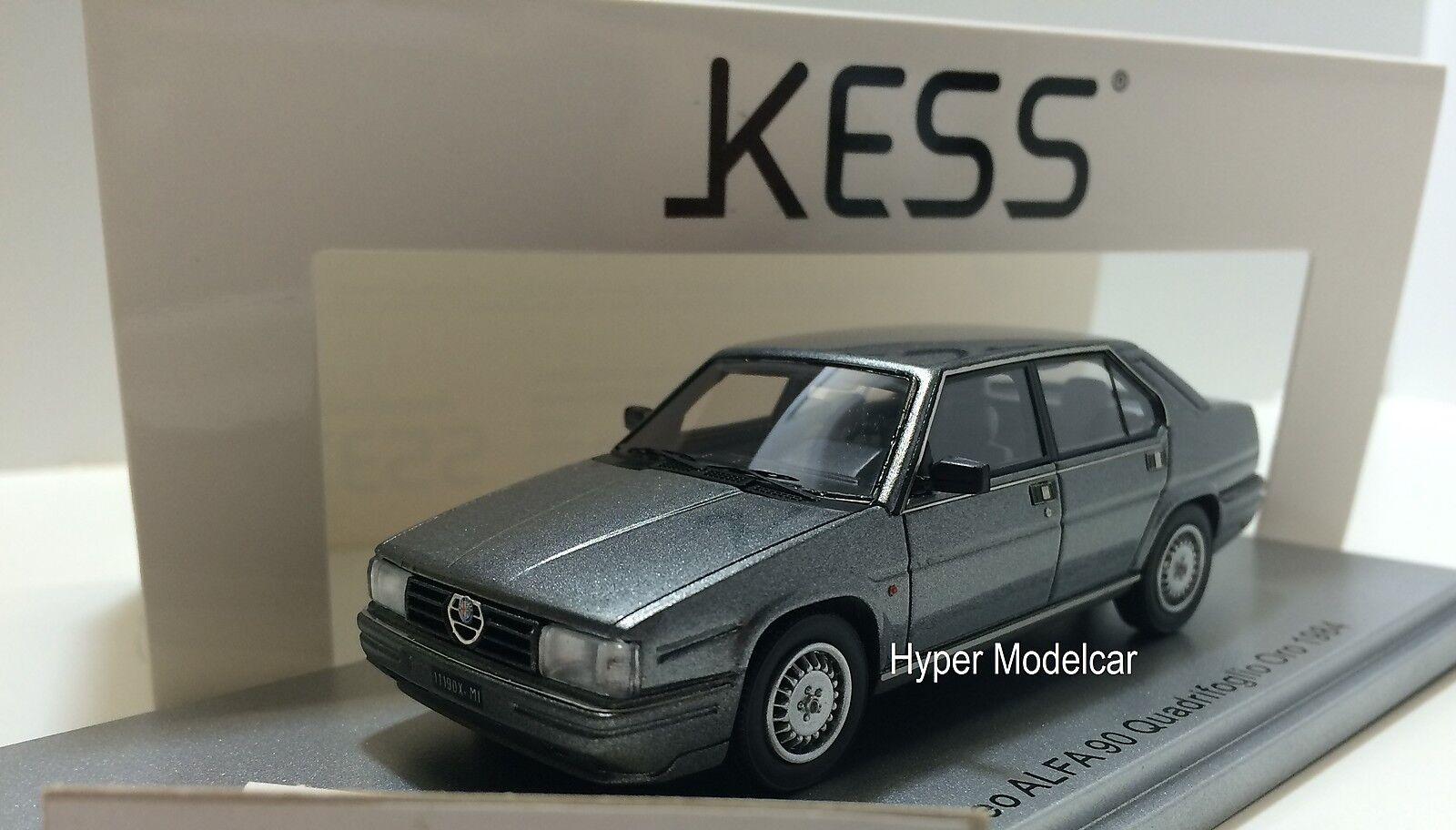 KESS MODEL 1 43 Alfa Romeo Alfa 90 Quadrifoglio oro 1984 gris Met. KE43000190
