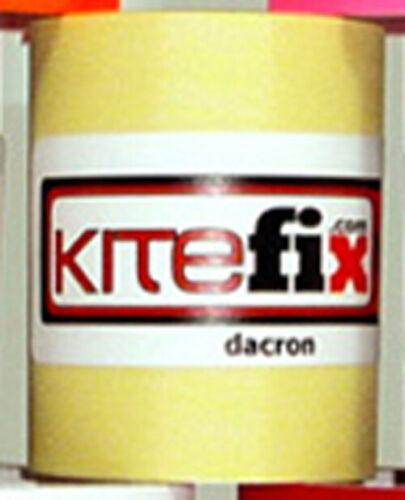 Kitefix Self Adhesive Dacron for your Kite NEW kiteboarding -yello Kiteboard
