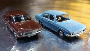 Herpa-451567-Audi-100-LS-2-Car-Pack-1-87-HO-Scale