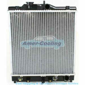 All Aluminum Radiator For Honda Civic 92-00  Del Sol 93-97 Acura EL 1.5 1.6 L4