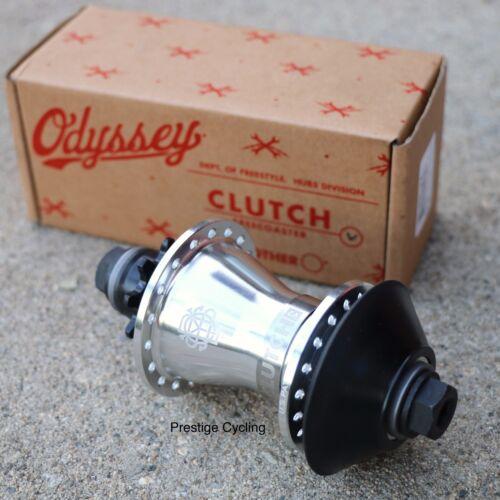 ODYSSEY BMX CLUTCH V2 FREECOASTER LHD 9T HUB ANODIZED SILVER 14mm PRIMO CULT