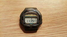 rare Retro wristwatch mens Casio DB-56W 965 top buttons TELEMEMO 50 Worldtime