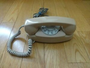 Vintage-Northern-Electric-Cream-Rotary-Dial-Desk-Telephone-PRINCESS-Canada