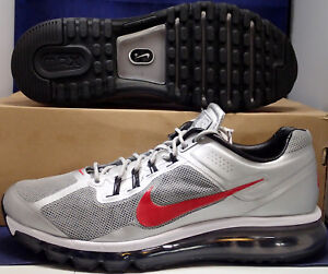 new arrival 6d111 45488 Image is loading Nike-Air-Max-2013-EXT-LE-Metallic-Silver-