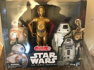 Stars-Wars-The-Force-Awakens-TARGET-EXCLUSIVE-C-3PO-BB-8-12-Inch-Figure-SET-2016