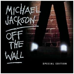 Michael jackson – off the wall special edition cd album (with card.