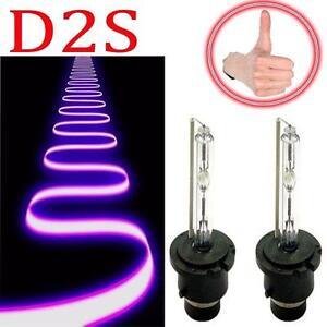 2x-35W-55W-D2S-3000-12000k-HID-Xenon-Headlight-Light-Bulbs-OEM-Replacement-Q5KDp