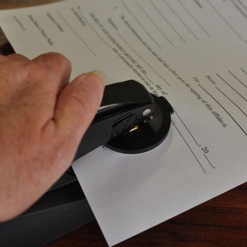 """1.625/"""" Custom Desk Embosser Custom Embosser Seal Embosser M1DESK"""