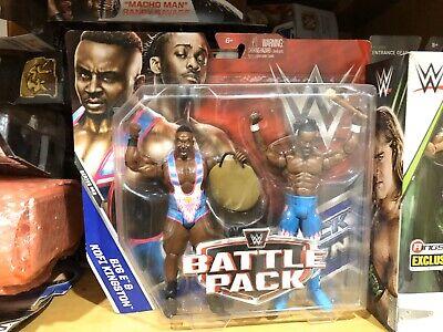 wwe wrestling SERIE BATTLE PACK 43 KOFI KINGSTON E BIG E