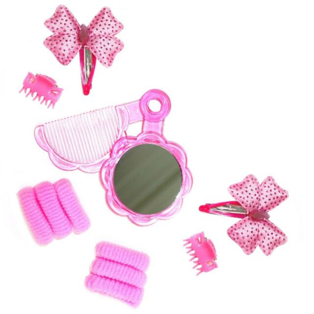 MY LITTLE PONY HAIR CLIPS 2 PAIRS SNAP CLIPS GIRLS Pinkie Party Bag filler NEW