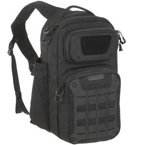 Maxpedition-Gridflux-Epaule-Sac-a-Dos-Militaire-Armee-Sling-Pack-Securite-Noir