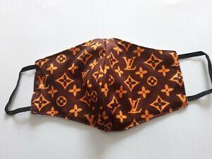 Masque de protection en tissu logo Louis Vuitton