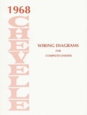 CHEVELLE 1968 Wiring Diagram | eBay