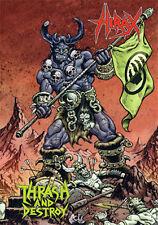 HIRAX - Thrash and Destroy DVD+CD Slayer Exodus Testament Voivod Sacred Reich
