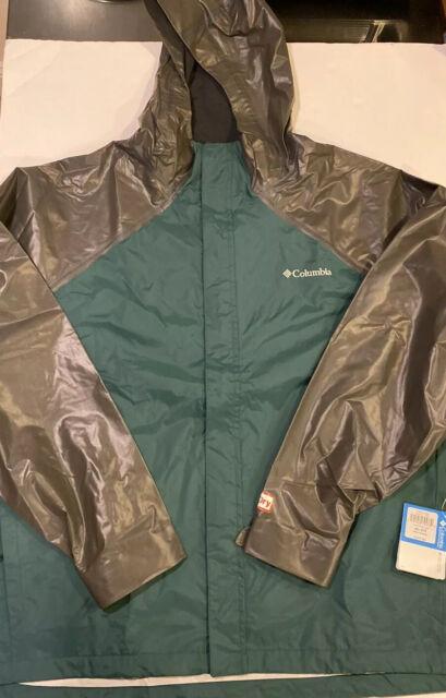 Columbia Men 4XL Outdry Explorer Hybrid Hooded Rain Jacket ...