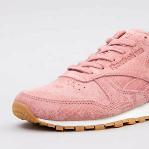 REEBOK CLASSIC LEATHER 'CLEAN EXOTICS' W TRAINERS BS8226