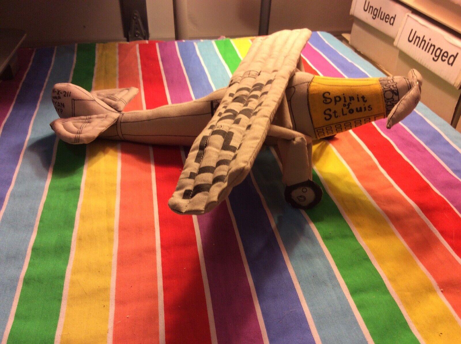 RARE Flight Legend Ryan NYP Spirit Spirit Spirit of St. Louis PLUSH N-X-211 Charles Lindbergh 4ee3a9