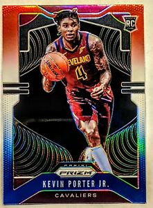 Kevin-Porter-Jr-2019-20-Panini-Prizm-Red-White-Blue-Prizms-Rookie-RC-274-HOT