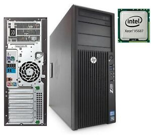 Details about HP Workstation Z420 Tower Desktop PC Intel Xeon 3 60GHz 8GB  RAM No HDD NO-OS