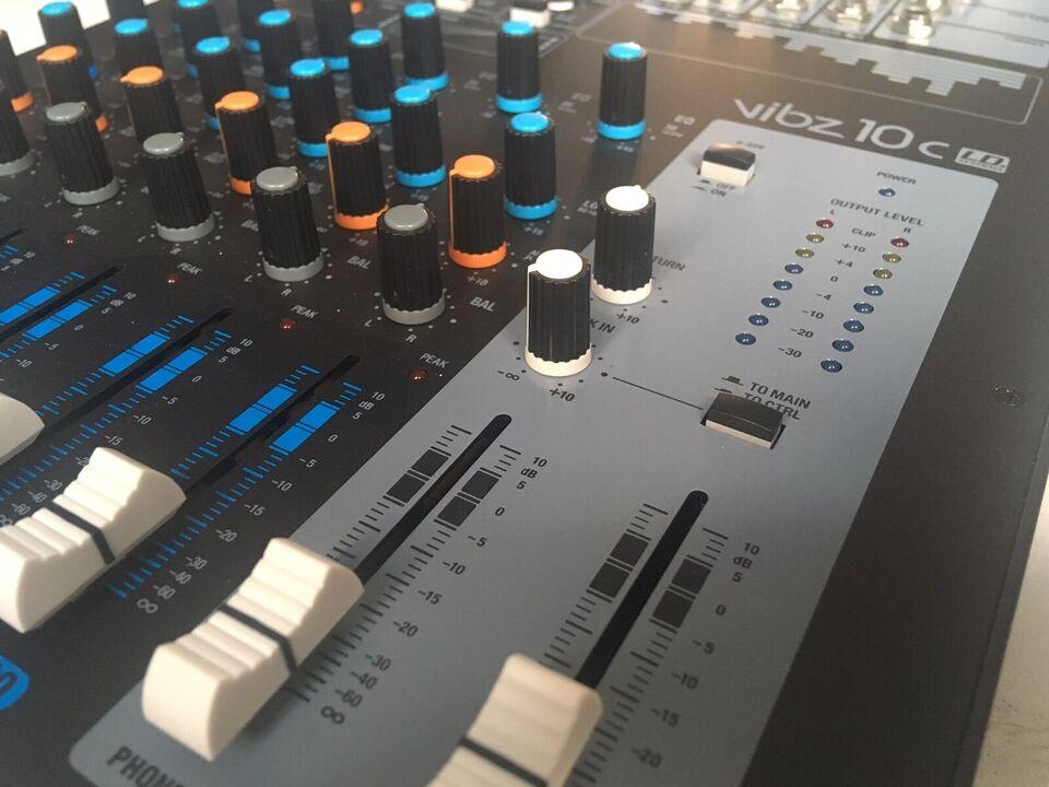Mixer, LD Systems Vibz 10 c