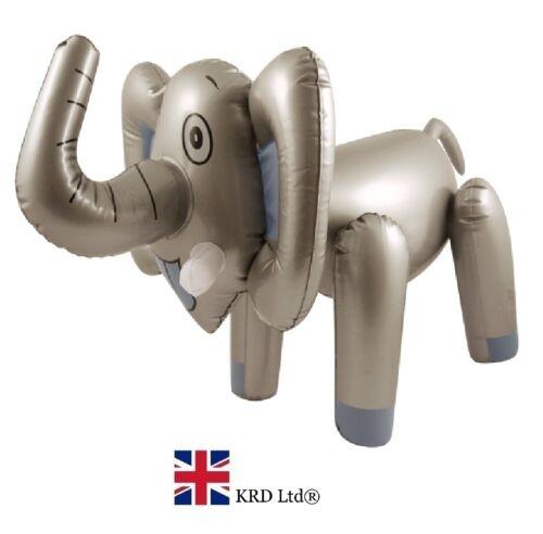 """26/"""" LARGE INFLATABLE ELEPHANT Blow Up Toy Animal Zoo Party Decoration Safari UK"""