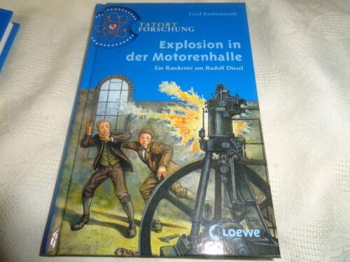 1 von 1 - Explosion in der Motorenhalle ein Ratekrimi Tatort Forschung  Loewe Verlag NEU