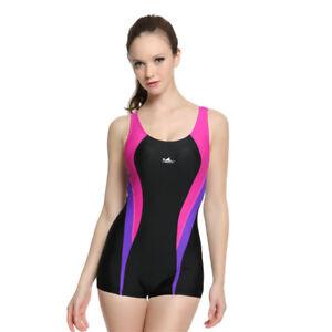 31d5207bac535 Image is loading Yingfa-Women-One-Piece-Swimsuit-Monokini-Training- Competition-