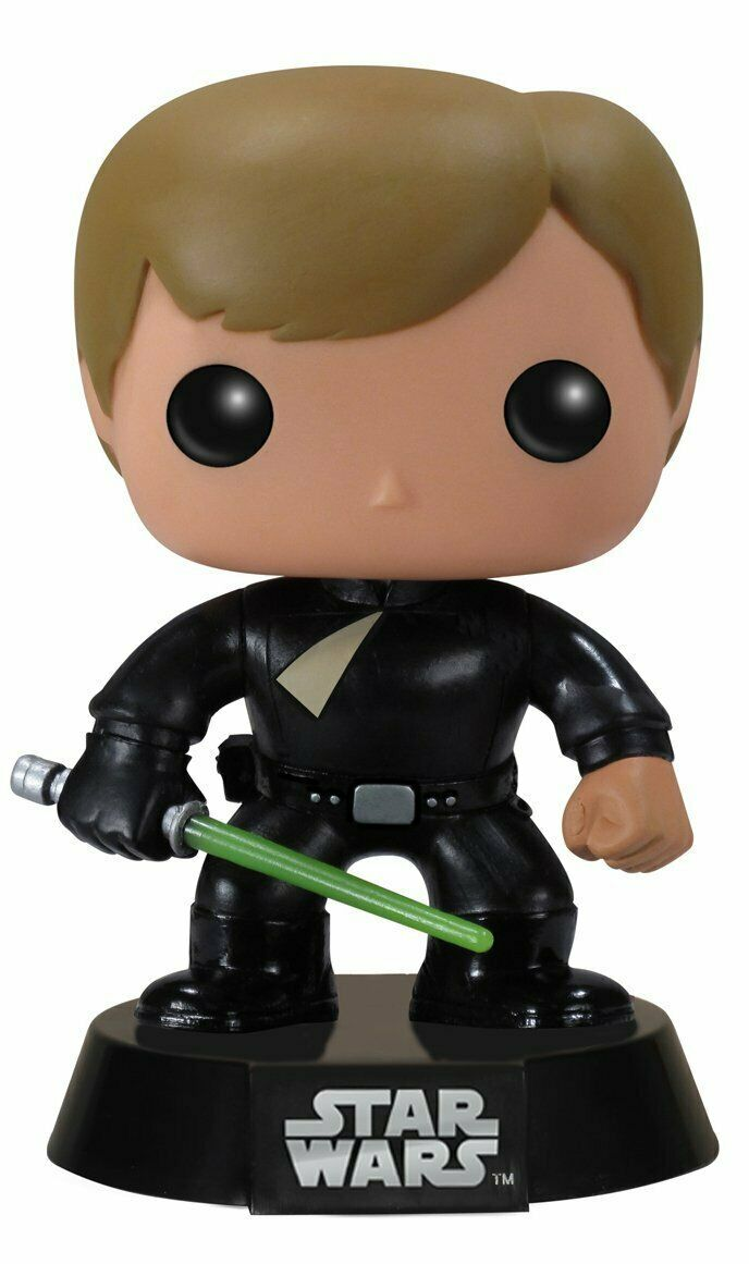 Officially Licensed Star Wars Luke Skywalker Jedi Jedi Jedi POP  Vinyl Figure in Predector 60a3a6