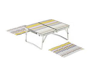 Coleman Picnic Mini Table Set Outdoor Folding Camping Portable
