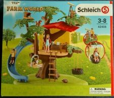Farm World Plastic Figure 42408 SCHLEICH Adventure Tree House Playset