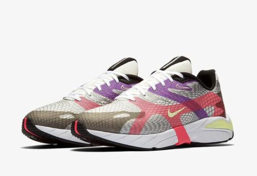 Nike D/ms/x ghoswift Reino Unido 13 EUR 48.5 cumbre apenas Volt Negro BQ5108-103 Blanco