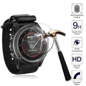 For-Garmin-Fenix-5-Watch-Transparent-Tempered-Glass-Screen-Protector-Film-Guard
