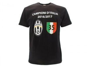 Actif Juventus T-shirt Maillot Célébration 35mo Scudetto Série 2016/2017 Officiel Pour Aider à DigéRer Les Aliments Gras