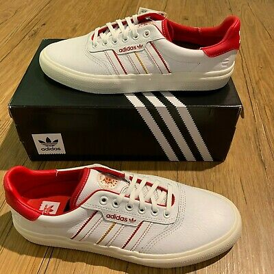 veredicto Analgésico Fundador  Adidas 3MC x Evisen White and Scarlet - 10.5 | eBay