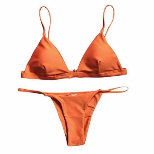 Striped Bikini Set Women Bandage Bathing Suit Micro Swimsuit Brazilian Thong