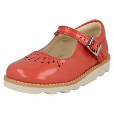 39e908737454a4 Girls Clarks Crown Jump Shoes Size 8g for sale online | eBay