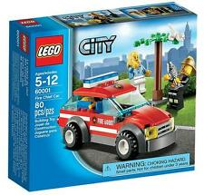 LEGO CITY 60001 Fire Chief Car Cat in Tree rescue woman girl boy fish NEW SEALED