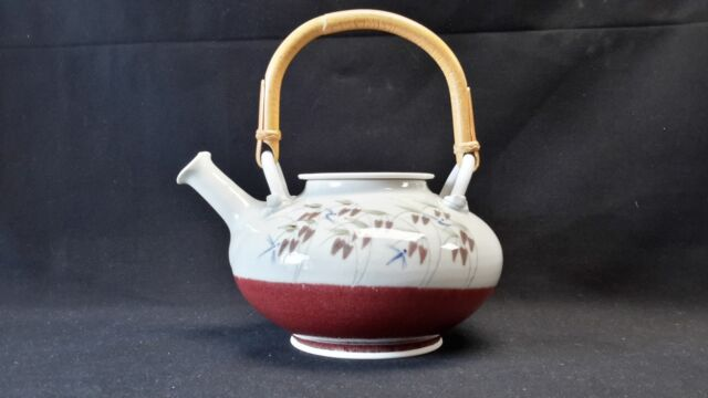 Joseph Panacci Signed & Dated Handcrafted Canadian Pottery - Teapot with Lid
