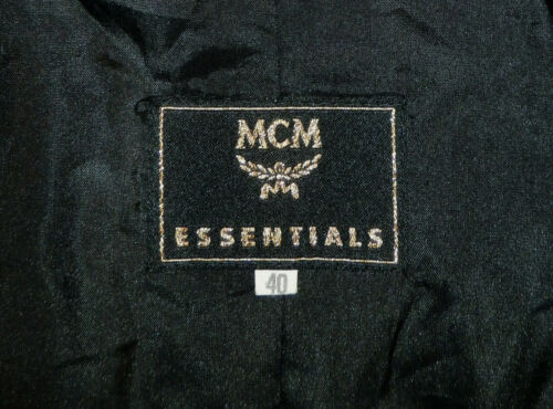 Jacket Authentic Taille Mcm L Coat ~ Black zxARaA