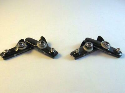 light CNC silver Aican Road brake holder catridge for Shimano 2 pairs