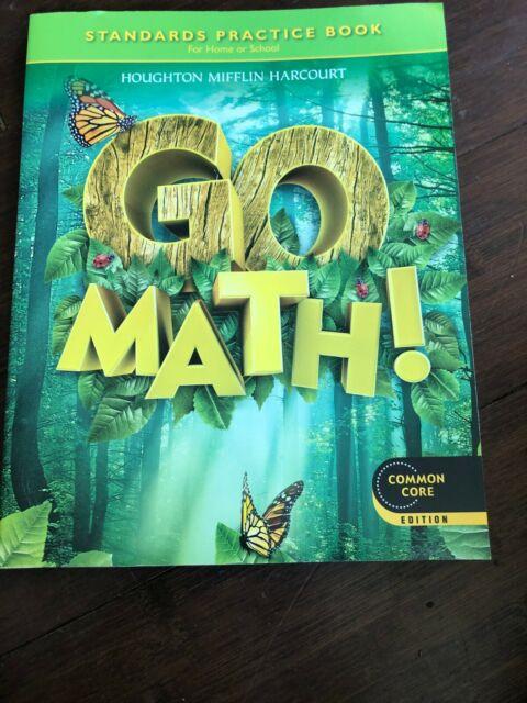 Go Math! Grade 1 Standards Practice Book - NEW | eBay