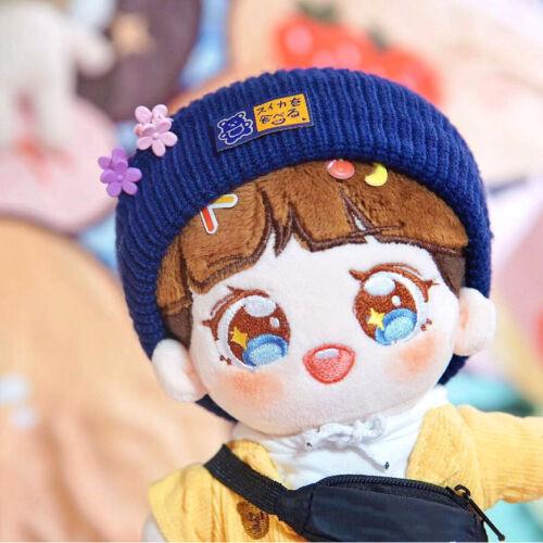 15cm 20cm Kpop EXO BLACKPINK Plush Doll Cap Winter Wool Hat Doll/'s Accessories