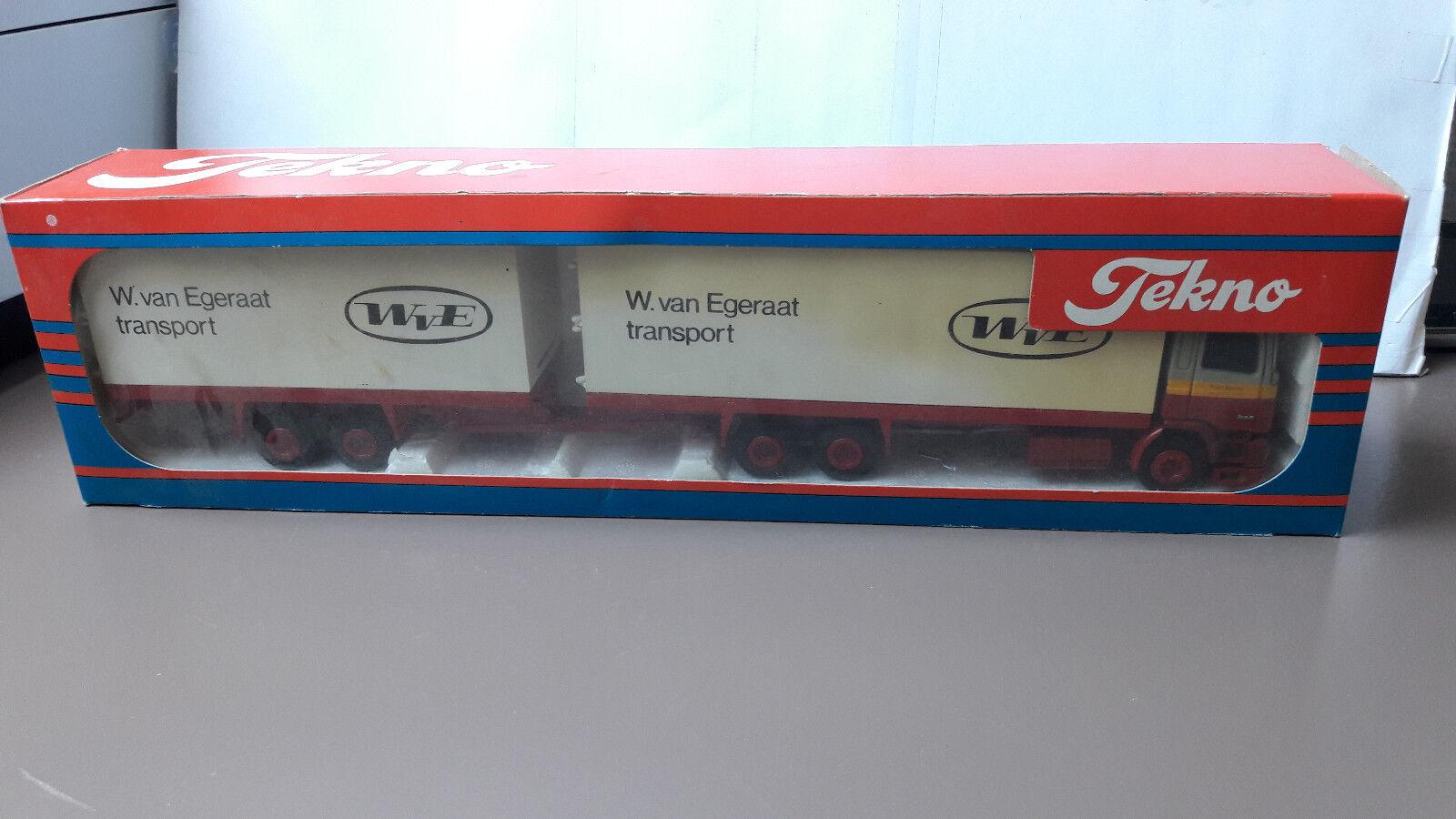 Tekno DAF 95  W. van Egeraat Transport  Metall  1 50  Org. in OVP
