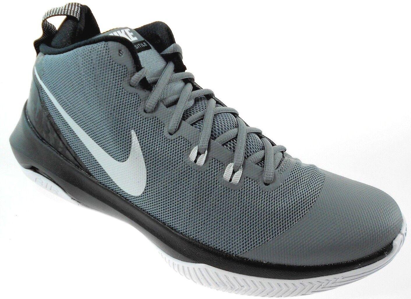Nike air versitile uomini bene le scarpe grigie sz,