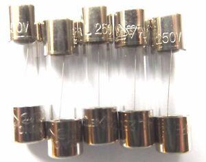 Fuse 2.5a  20mm  Quick Blow Glass  F2.5a L 250v Fast  021702.5MXP  x5pcs