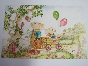 Medici Postcard by Susan Gay A Ride In The Cart PK444