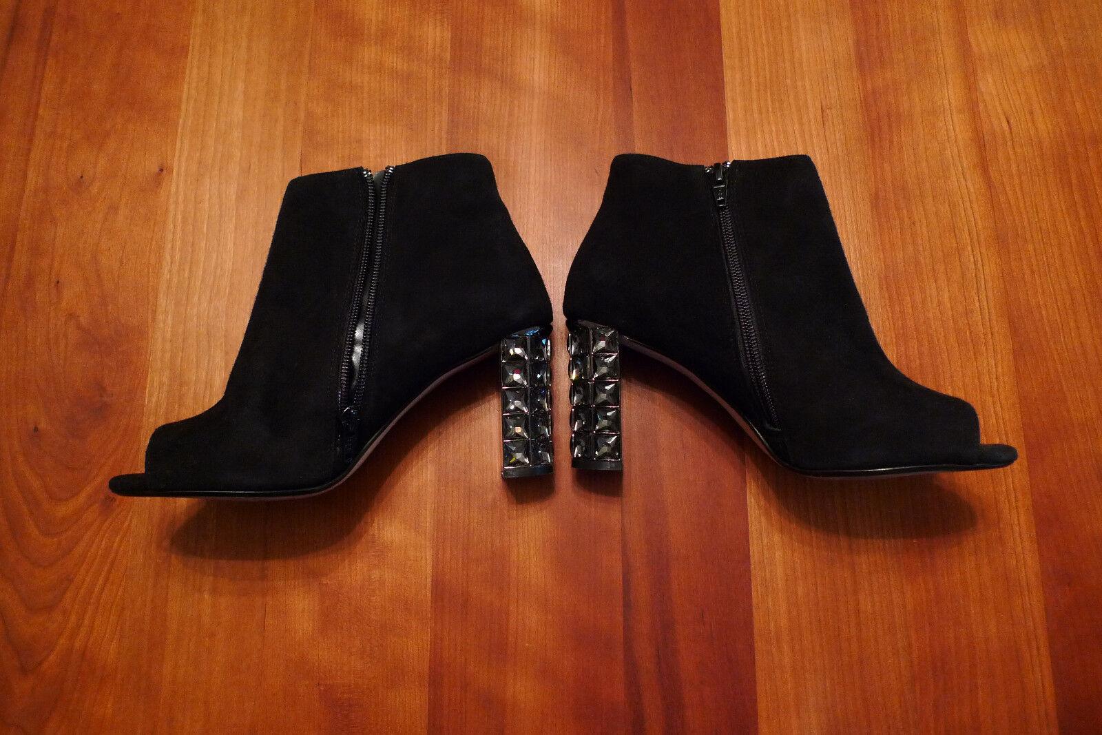 Edle schwarze Stiefeletten von DUNE LONDON, Gr. 37, 1 x getragen
