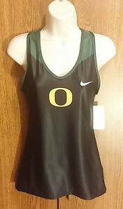 Oregon-Ducks-Womens-Track-Tank-Top-Fitness-Dri-Fit-Nike-Medium